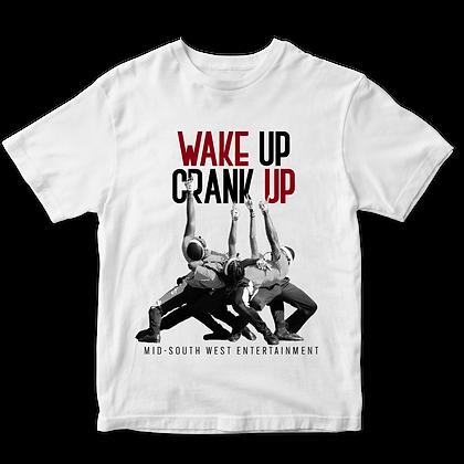 Wake Up Crank Up Showdown Drum Major T-shirt 2