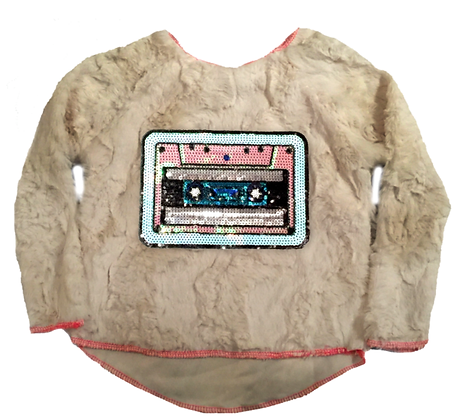 90's Babe Faux Fur Sweater
