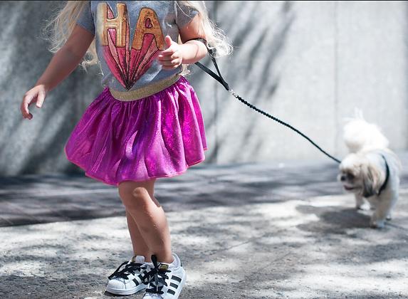 Pink Foil/ Sparkle Skirt