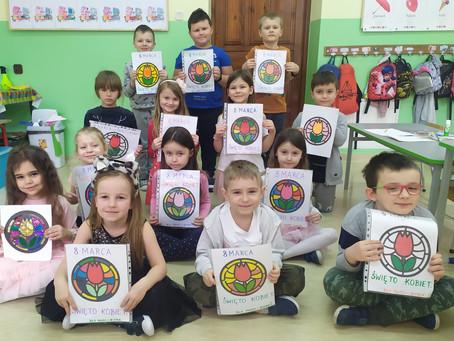 Dzień kobiet w Szkole Podstawowej w Iskrzyki