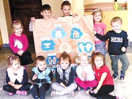Przedszkolaki świętują Międzynarodowy Dzień Praw Dziecka