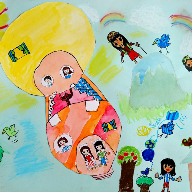 電気の気球