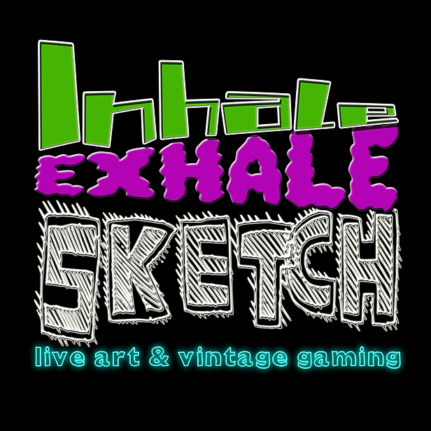 Inhale Exhale Sketch (Education Event Brand)