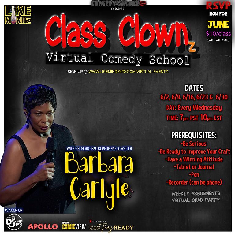 CLASS CLOWNz: Virtual Comedy School (1)