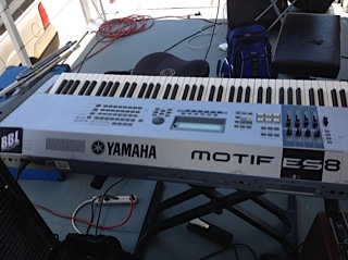 Yamaha Motiff ES8 Jazz at the Lake
