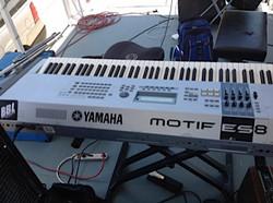 Yamaha Motiff ES8 Jazz at the Lake