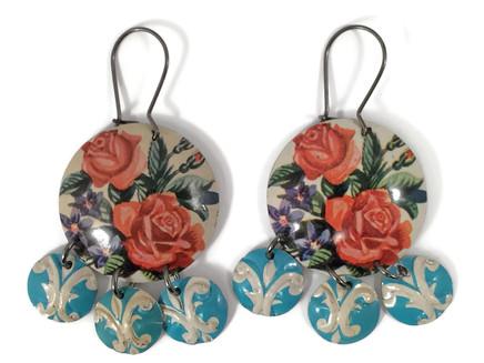 Gypsy Rose Earrings