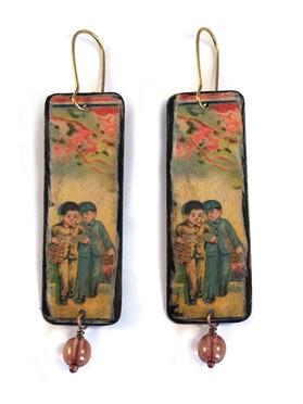 Chinese Children Earrings