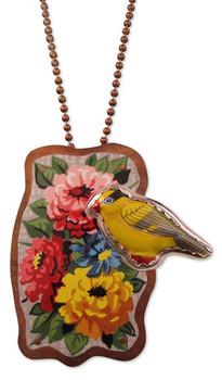 Yellow Bird Necklace