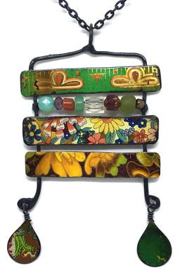 Tin Bars with Beads