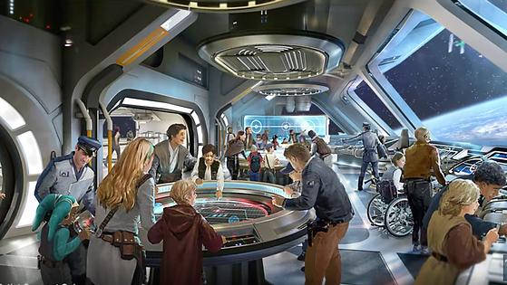Star Wars Hotel Experience at Walt Disney World