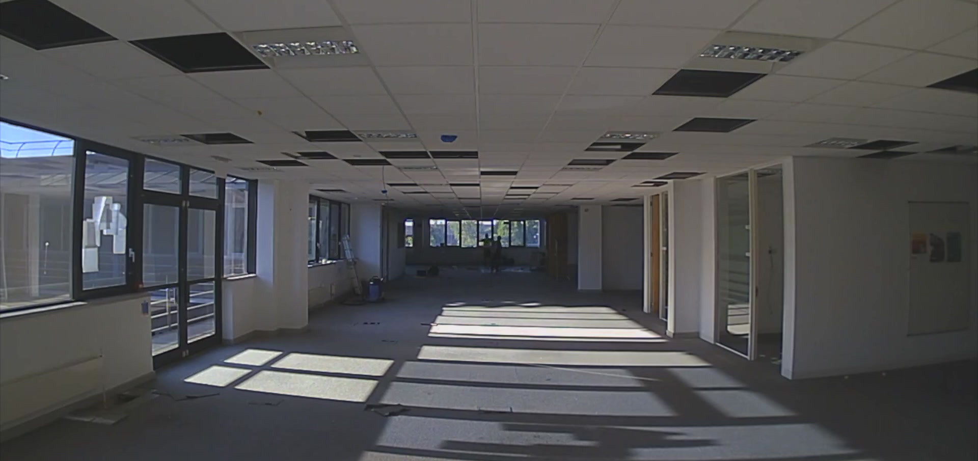 Floor & ceiling removal: Time-lapse video
