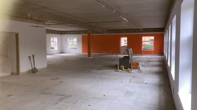 After strip out
