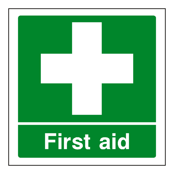 first aid at work logo