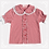 Thumbnail: Candy Gingham Short Sleeves Blouse