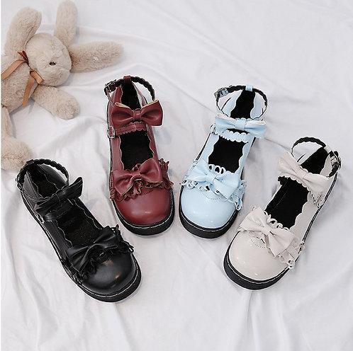 Sweet Heart Ruffle Shoes