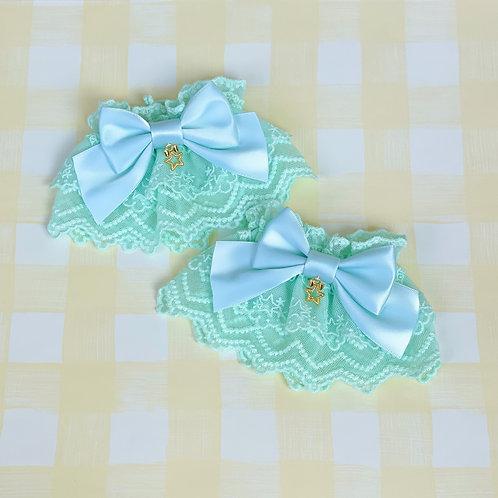 Cute Ribbon Twinkle Stars Wrist Cuffs