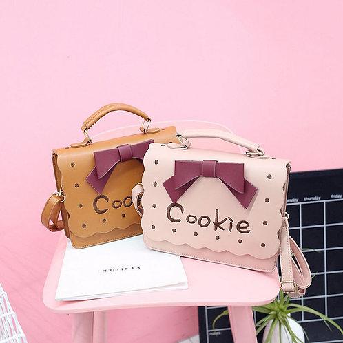 Cookie Ribbon Crossbody Bag