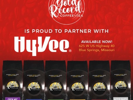 Gold Record Coffee partners with Missouri Hy-Vee for first grocery store testing.