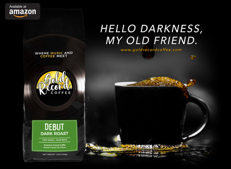 Gold Record Coffee launches first ad campaign for Debut Dark Roast.