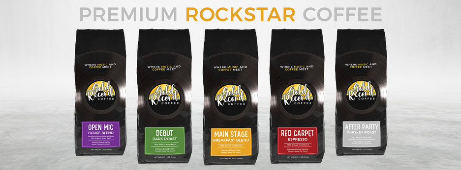 Gold Record Coffee - Main Lineup