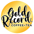 Gold Record Coffee + Tea Logo
