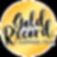 Gold Record Coffee + Tea Logo - FULL CIR