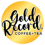 Gold Record Coffee + Tea Logo - FULL CIR