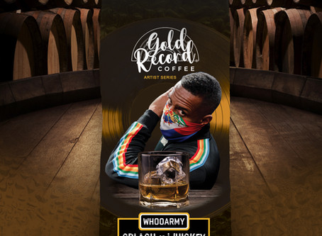 """Gold Record Coffee launches """"Artist Series"""" with DJ Whoo Kid."""