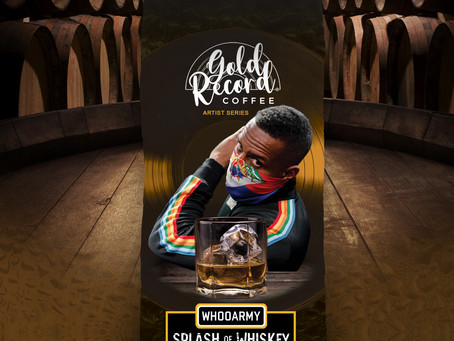 "Gold Record Coffee launches ""Artist Series"" with DJ Whoo Kid."