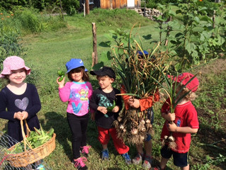 Stomping out Nature Deficiency Disorder with Muddy Boots at Farm and Forest Camp