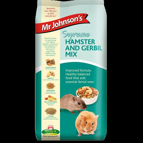 Mr Johnsons hamster & gerbil mix 900g