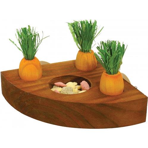Carrot toy n treat holder