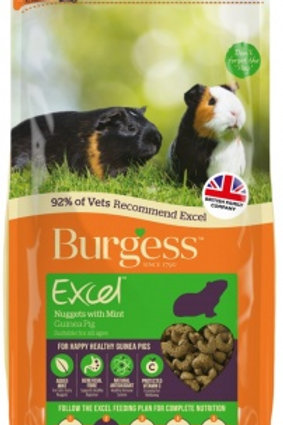 Excel guinea pig with mint 2kg