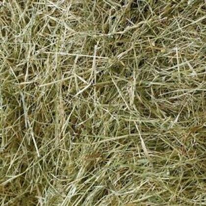 Large loose bag of meadow hay