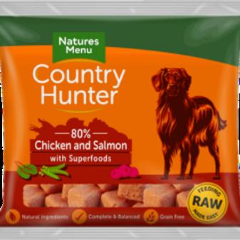 Country hunter chicken & salmon