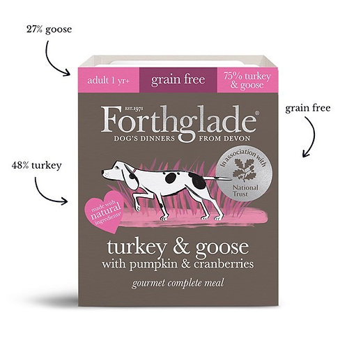 Forthglade gourmet completes 395g