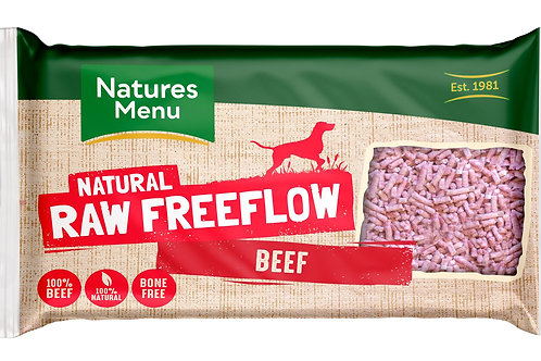 Natures menu freeflow beef 2kg