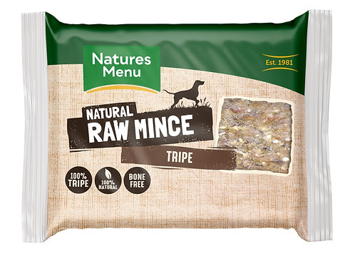Natures menu tripe mince 400g