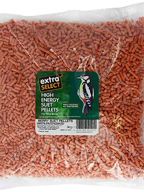 Extra select suet pellets 3kg