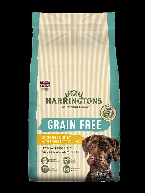 Harringtons grain free turkey 2kg