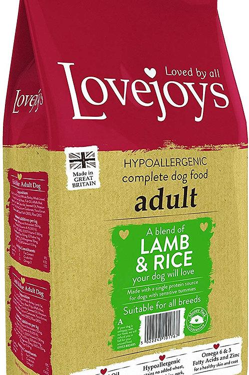 Lovejoys lamb & rice adult 2kg
