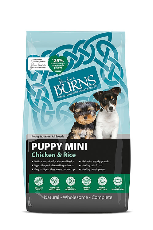Burns puppy mini 2kg