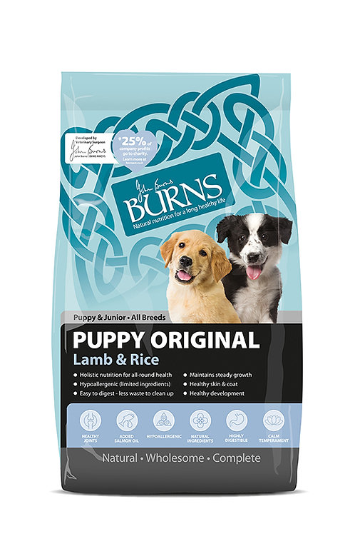 Burns puppy original lamb 2kg