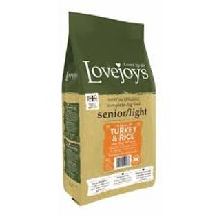 Lovejoys turkey & rice senior 2kg