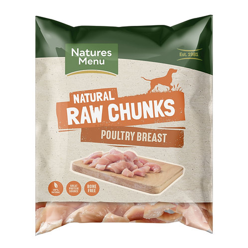 Natures menu poultry breast 1kg