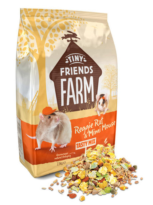 Reggie rat mix 850g