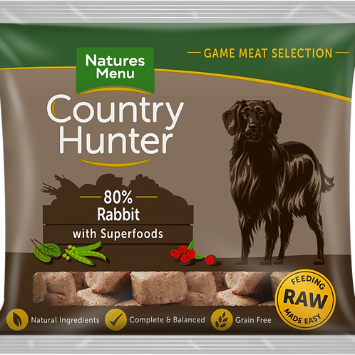 Country hunter rabbit 1kg