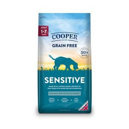 Cooper & co grain free sensitive 1.5kg