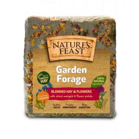 Natures feast garden forage 1kg